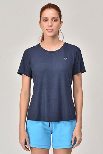 bilcee Lacivert Sırt Detaylı Kadın T-Shirt GS-8110