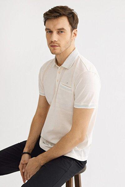 Avva Polo Yaka Düz Cepli T-Shirt