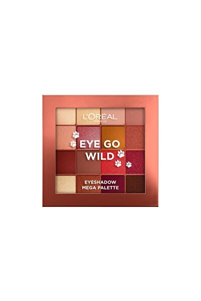 L'Oreal Paris Eye Go Wild Göz Farı Paleti 3600523815449