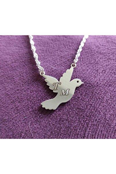Yetkin Kuş Kolye Gümüş