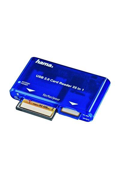 Hama Kart Okuyucu/Yazıcı USB 2.0 35in1