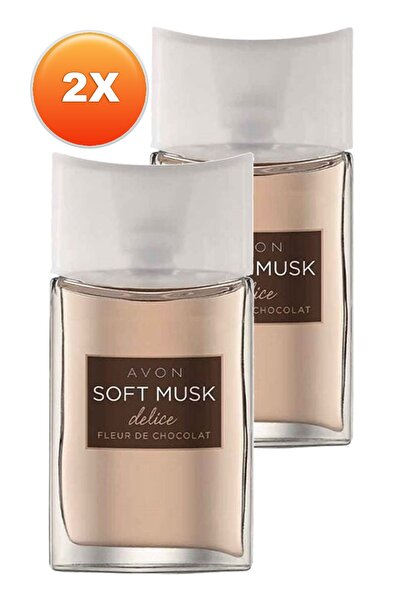 AVON Soft Musk Delice Kadın Parfüm Edt 50 ml 2'li Set 5050000103817