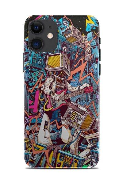 Renkli Garaj Iphone 11 Doroty Telefon Kaplaması