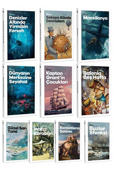 Halk Kitabevi Geleceğin Çocukları - Jules Verne 10 Kitap Bir Arada