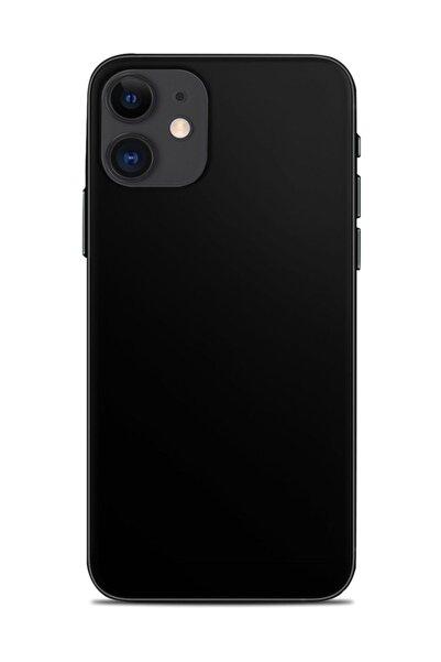 Renkli Garaj Iphone 11 Mat Siyah Telefon Kaplaması