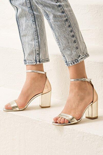 Elle Shoes DUBLINN Dore Kombin Kadın Sandalet