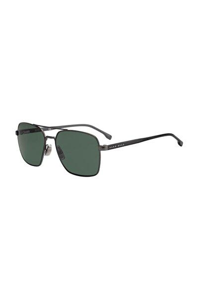 Hugo Boss Erkek Dikdörtgen Güneş Gözlüğü 1045/S SVK QT 58 G
