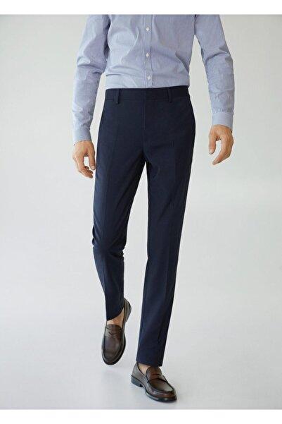 MANGO Man Süper Dar Kesimli Mikro Dokuma Pantolon