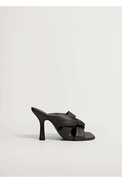 MANGO Woman Düğüm Detaylı Topuklu Ayakkabı