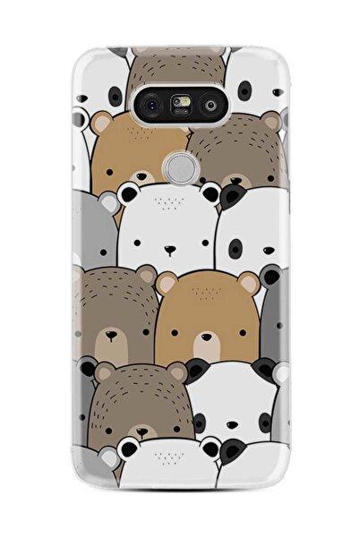 Kılıfland Lg G5 Kılıf Silikon Resimli Kapak Panda Pattern Stok 962