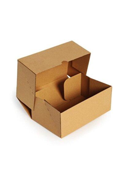 Unipak Kesimli Internet E-ticaret Kutusu 17x12,5x5,5 cm - Kraft 200 Adet