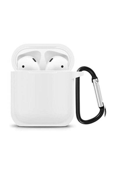 UMD Apple Airpods Kılıf Silikon ( Beyaz )
