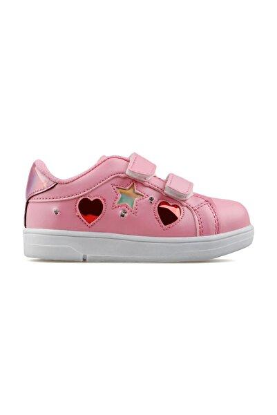 Ayakland Kız Çocuk Cırtlı Spor Ayakkabı S21