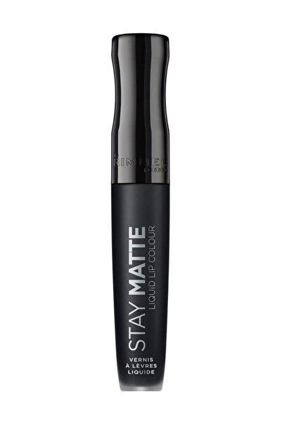 RIMMEL LONDON Ruj - Stay Matte Liquid Lipstick 840 Pitch Black