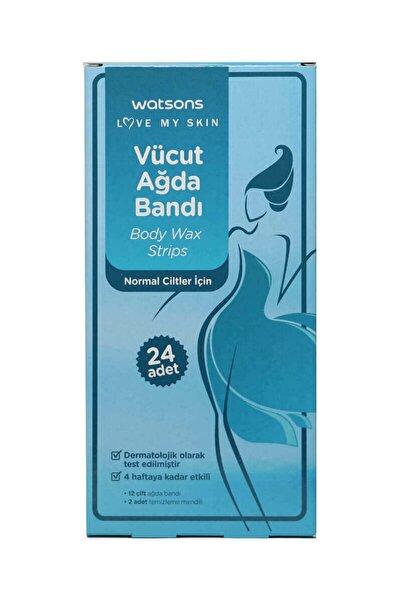 Watsons Body Wax Strips 24pcs For Normal Skin 2399900906009