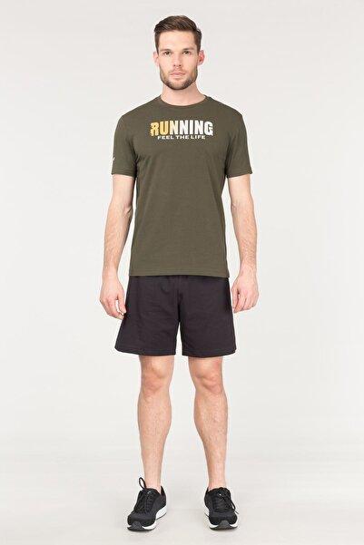 bilcee Yeşil Pamuklu Erkek T-Shirt FS-1681