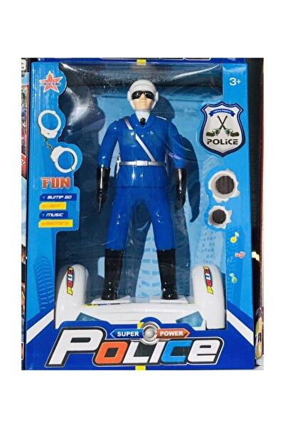Party Polis Işıklı Sesli Hareketli Robot