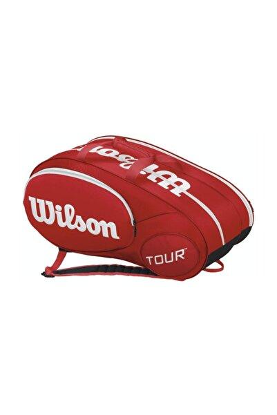 Wilson Tenis Sırt Çantası Mini Tour 6 Pack Kırmızı  (WRZ642506 )