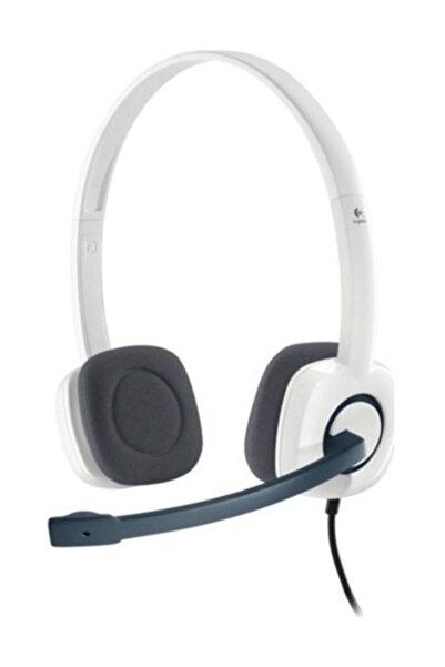 logitech H150 Mikrofonlu Kulaklık 981-000350 Beyaz