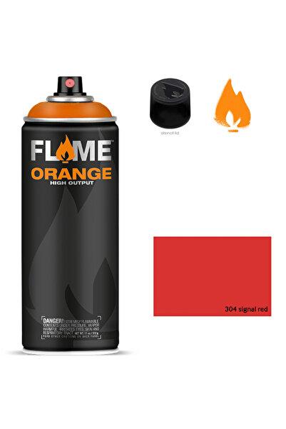 Flame Orange 400ml Sprey Boya N:304 Signal Red 5699964