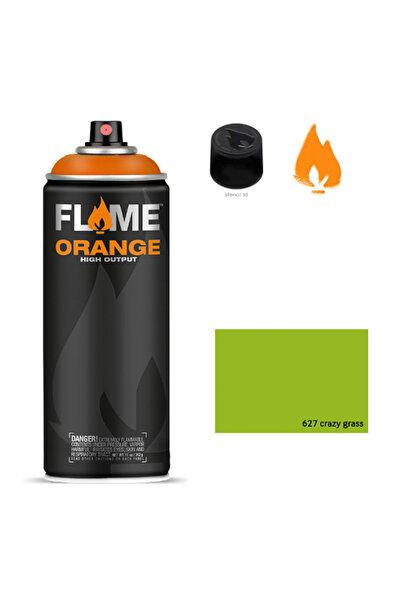 Flame Orange 400ml Sprey Boya N:627 Crazy Grass 5700043