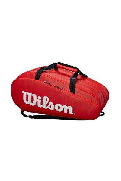 Wilson Tour 3 Comp Rd Kırmızı Tenis Çantası Wrz847915