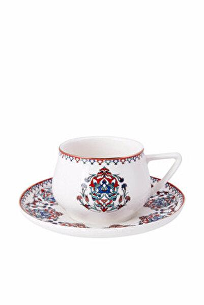 Nakkaş 4 Kişilik Çay Fincan Takımı