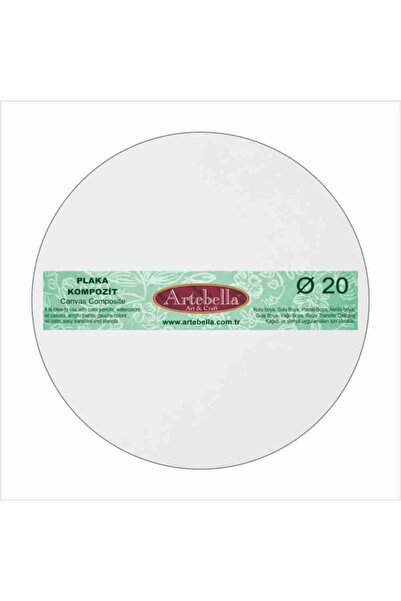 Artebella Kpytc020 Kompozit Plaka Yuvarlak 20 cm