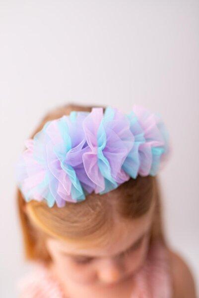 PixyLove Renkli Kız Çocuk Taç
