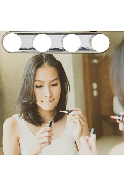 Petrix Taşınabilir Makyaj Aynası Led Işığı