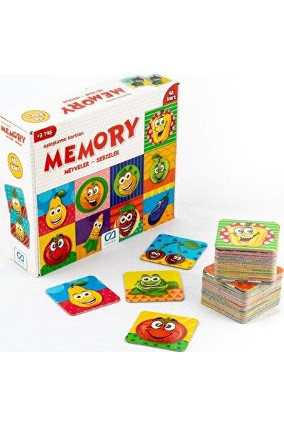 CA Games Meyveler - Sebzeler - Memory Eşleştirme Kartları - Null