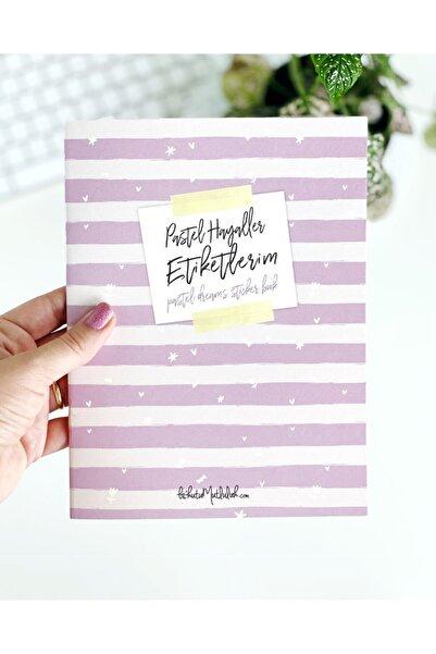 Bikutumutluluk Pastel Hayaller Etiket Kitabı - Girl Boss Sticker Book