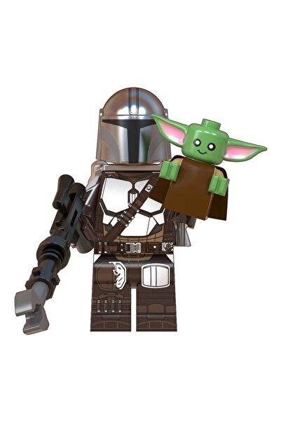 Xinh Star Wars The Mandalorian Mini Figür Mandalorian +baby Yoda X-133