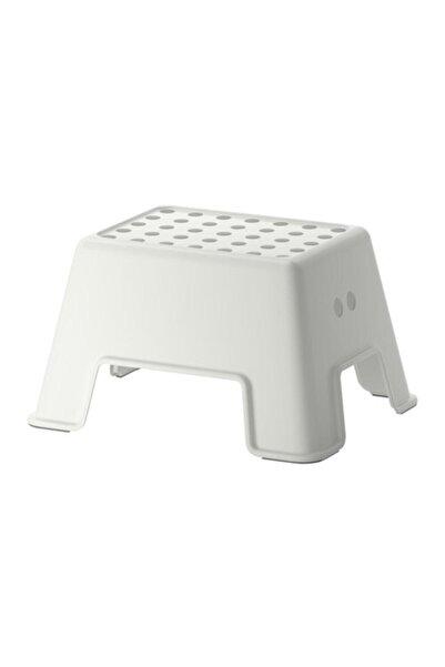 BARBUN Ikea Bolmen Tabure Bebek Çocuk Banyo Taburesi Beyaz