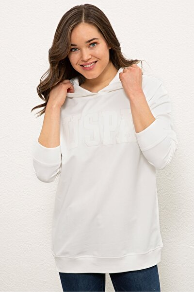 U.S. Polo Assn. Ekru Kadın Sweatshirt G082SZ082.000.1210474