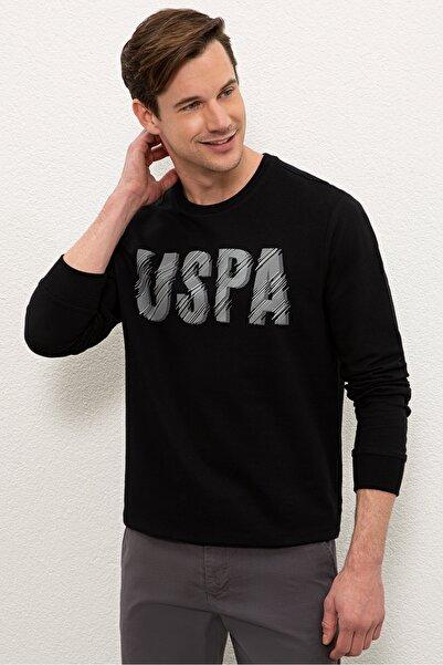 U.S. Polo Assn. Sıyah Erkek Sweatshirt G081SZ082.000.1219202