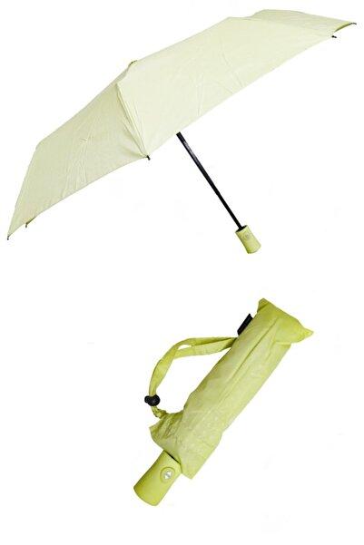 Pierre Cardin Kadın Yeşil Tam Otomatik  Şemsiye