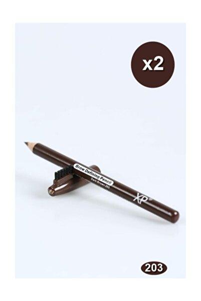 XP Kaş Kalemi 203 Koyu Kahve 2'li