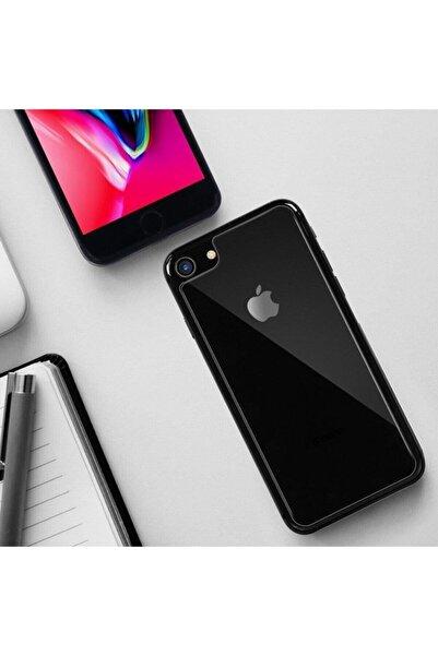 Go Aksesuar Apple Iphone 7- 8-se 2020 Uyumlu Arka Cam Kırılmaz Koruma