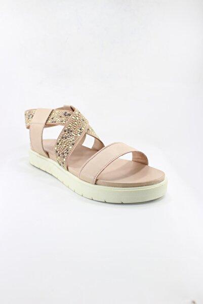 İnci Hakiki Deri Kadın Sandalet