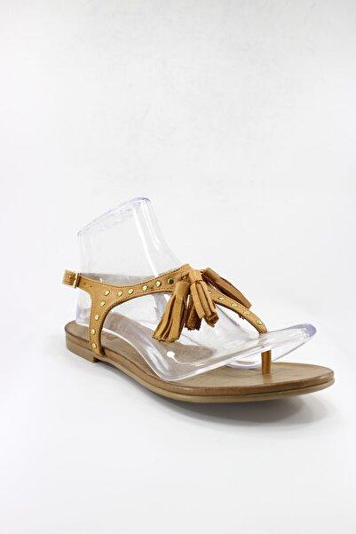 İnci Hakiki Deri Kadın Sandalet 39 Numara