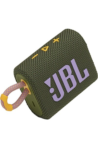JBL Yeşil Go 3 Taşınabilir Bluetooth Hoparlör