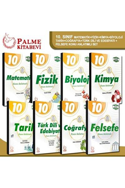 Palme Yayınevi Palme 10. Sınıf Tüm Dersler Konu Anlatımlı Set 2021-2022