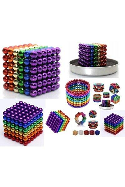 NEO Sihirli Manyetik Toplar Dyum Mıknatıs Küp Bilye 216 Adet Cube Küp Dymium