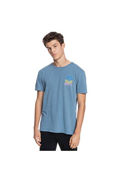 Quiksilver Erkek Lacivert Island Pulse Ss T-Shirt