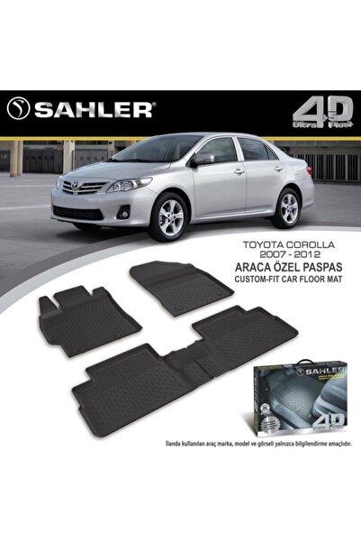 Sahler Toyota Corolla 2007-2012 Arası 4.5d Havuzlu Paspas