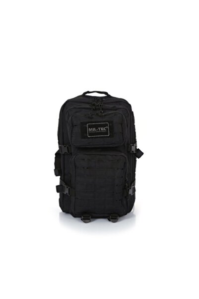 Mil-Tec Lazer Kesim Siyah Tactical Askeri-seyahat-dağcı 50 Litre Outdoor Sırt Çantası