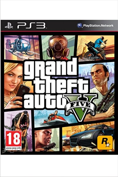 RockStar Games Gta V (grand Theft Auto 5) - Ps3 Oyunu