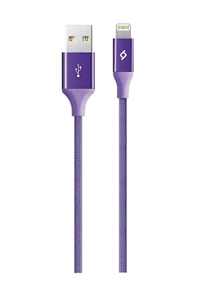 Ttec Mor Alumicable Iphone Uyumlu Şarj Kablosu Hızlı Şarj 120 cm