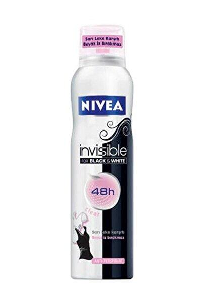 Nivea Black & White Clear Depdorant Sprey